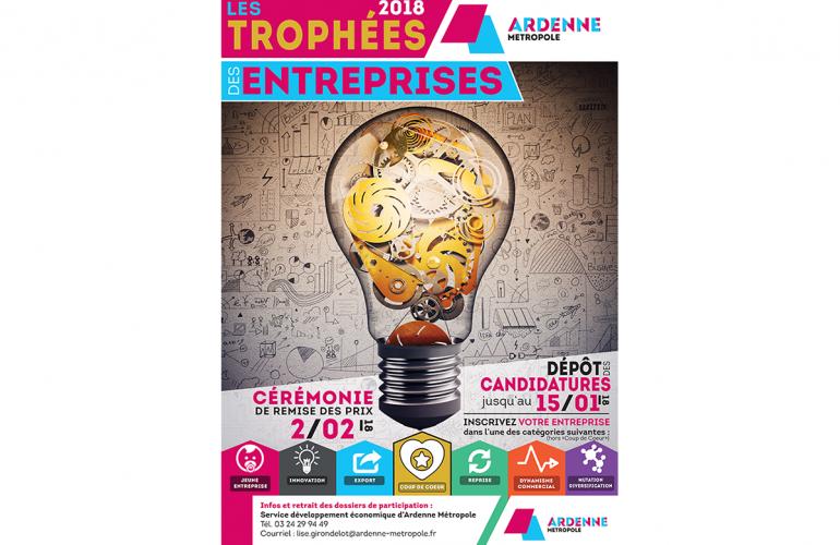 édition 2018 des trophées des entreprises Ardenne Métropole