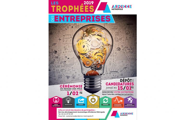 Les inscriptions pour la 3ème édition des Trophées des entreprises Ardenne Métropole sont désormais ouvertes