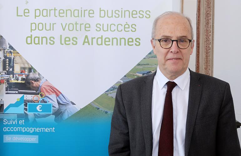Jeudi 13 décembre 2018 à Sedan, Benoît Mercier a été élu président de l'agence de développement économique des Ardennes par les membres du Conseil
