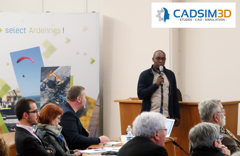 Created in the French Ardennes and located in Charleville-Mézières, the CADSIM 3D company, supported by Ardennes Développement, is establishing itself as one of the leading players in digital simulation and the optimisation of mechanical structures for the industry in the Grand Est region