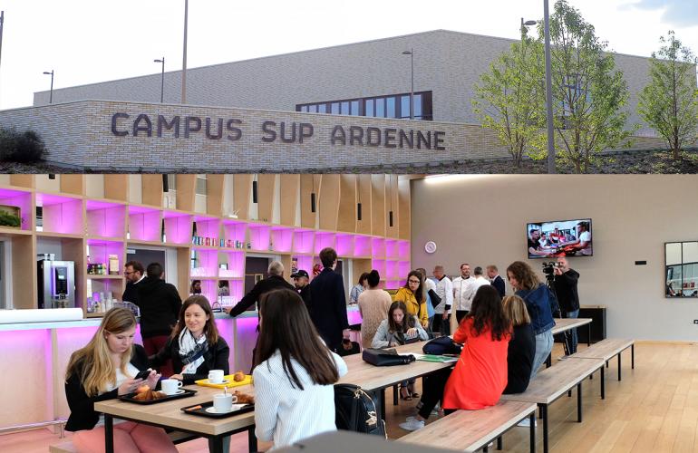 Campus Sup Ardenne, l'ambitieux projet est désormais concrétisé