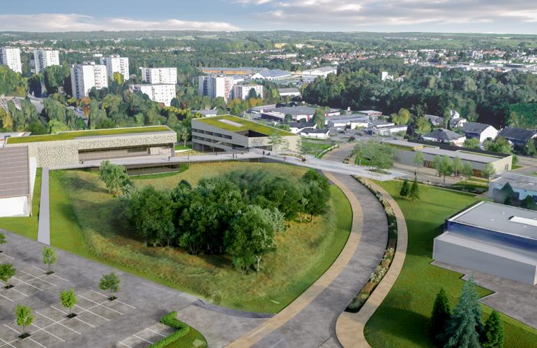 l'agglomération Ardenne Métropole aménage son site universitaire du Moulin Le Blanc, avec le soutien du Conseil Départemental des Ardennes et du Conseil Régional Grand Est