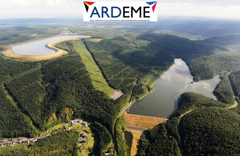 Animé par la CCI des Ardennes, en partenariat avec le Groupe EDF, le Groupement d'employeurs VALEMPLOI Ardennes et le Bureau Economique de la Province de Namur, le réseau ARDEME accompagne les entreprises vers les Marchés d'EDF