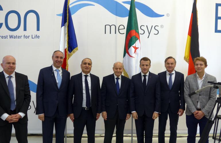 Le président du groupe algérien Cevital a annoncé le 7 novembre à Charleville-Mézières, dans les Ardennes, la prochaine implantation d'unités industrielles de fabrication de machines de purification de l'eau et de composants associés. Cette annonce a été faite en présence du président de la République Emmanuel Macron