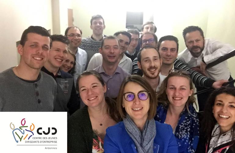 Le CJD Ardennes (Centre des Jeunes Dirigeants), comme ceux des autres territoires, regroupe des chefs d'entreprises qui ont tous comme point commun d'être jeunes, dynamiques, et de partager certaines valeurs