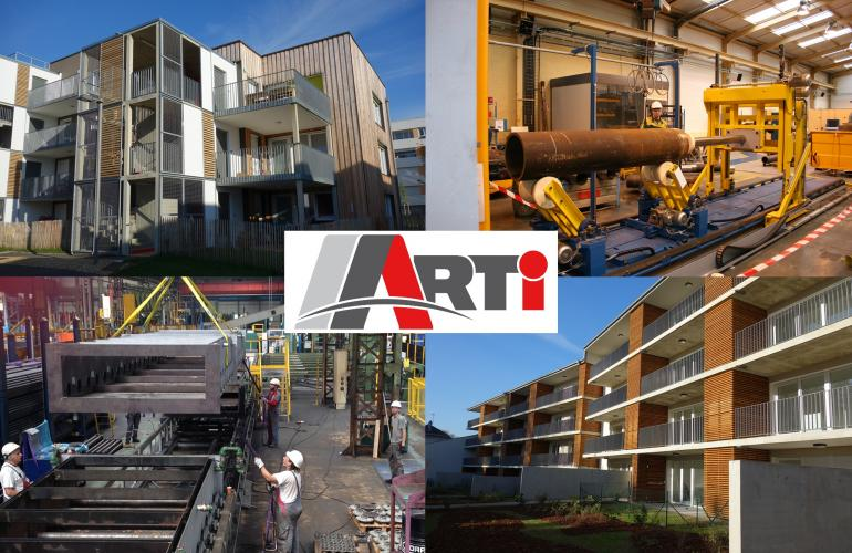 installée à Prix-les-Mézières dans les Ardennes, la société ARTI, acteur majeur de la maintenance industrielle, des machines spéciales et maintenant de la métallerie serrurerie pour le bâtiment fête ses 30 ans