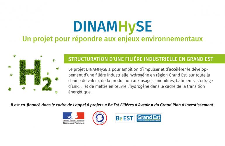 DINAMHySE : lancement d'un Club Hydrogène Grand Est