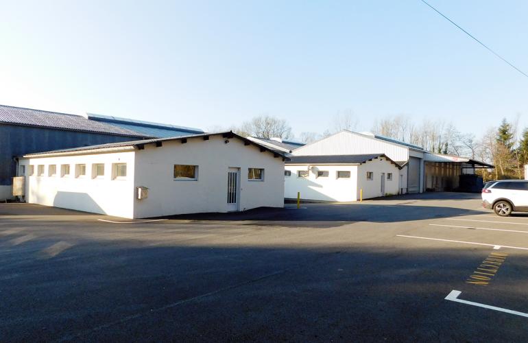 La select' immo d'Ardennes Développement : un nouveau bâtiment industriel à Douzy