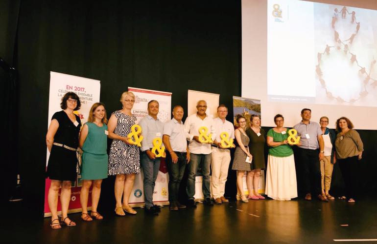 Avec Ardenne Ecotourism, l'Agence de Développement Touristique des Ardennes ADTA, chef de file de ce projet franco-belge, vient de remporter l'Esperluette 2018 dans la catégorie Tourisme Durable