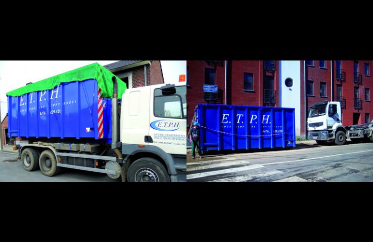 ETPH s'est implantée dans les Ardennes à Charleville-Mézières, accompagnée par Ardennes Développement. Elle s'adresse aux particuliers, aux compagnies d'assurances et au secteur industriel pour intervenir en cas de sinistres dus au fioul domestique et d'autres polluants