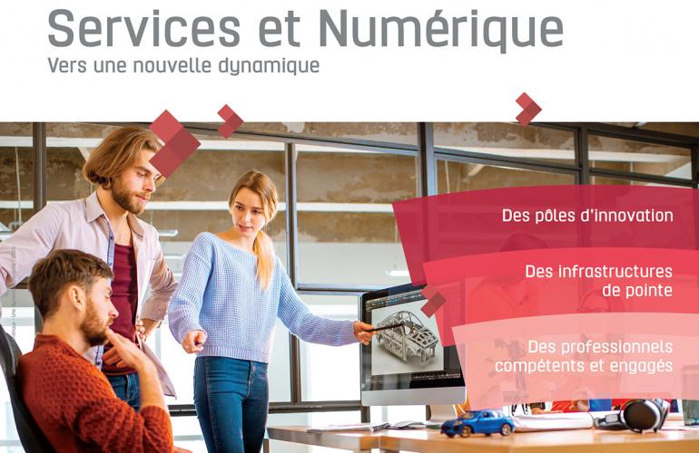 Souvent associées à l'industrie de production, les Ardennes sont également très actives dans le domaine des services à l'entreprise