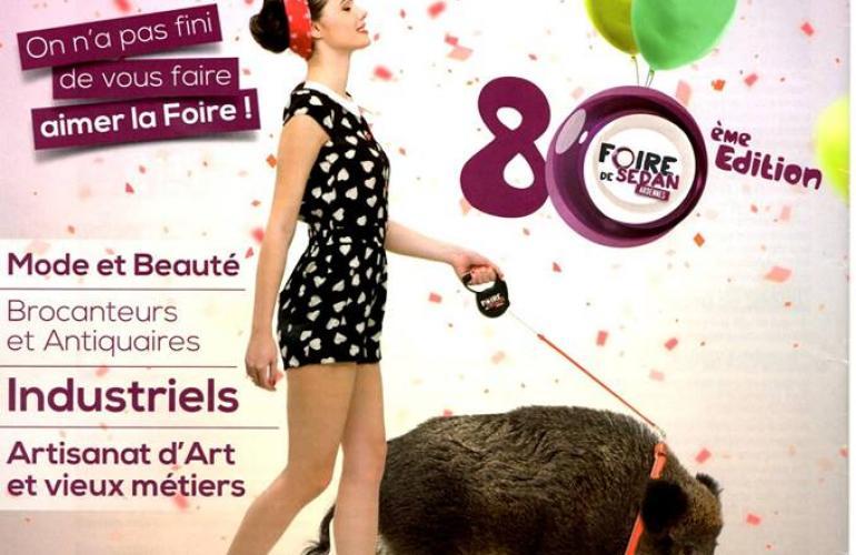 La Foire de Sedan soufflera ses 80 bougies du 11 au 16 septembre dans les rues de son centre-ville, dans les Ardennes au Nord-Est de la France