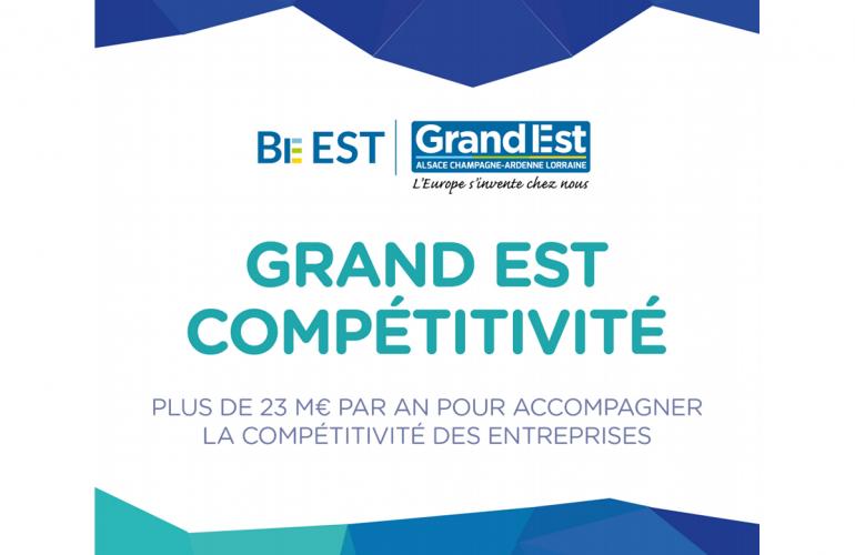 La région Grand Est a décidé de pérenniser les dispositifs Modernisation des PME et Industrie du Futur en les rapprochant sous un dispositif commun, baptisé Grand Est Compétitivité, applicable bien entendu dans les Ardennes