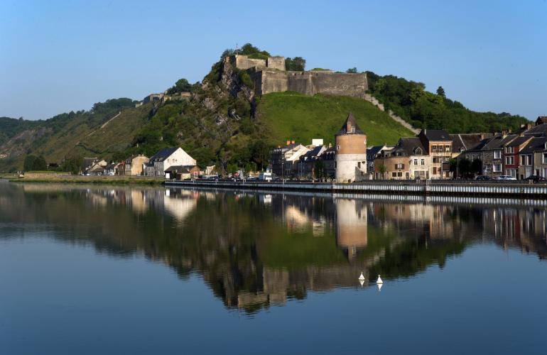 La citadelle de Charlemont à Givet fait partie du patrimoine historique et naturel des Ardennes