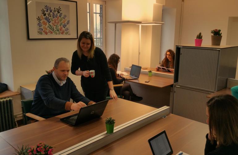 Nouvel espace de coworking soutenu par les Portes du Luxembourg, la Brique ouvre ses portes à Carignan, dans les Ardennes