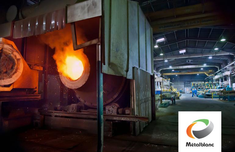 L'entreprise Métal Blanc, dans les Ardennes, s'est spécialisée dans le recyclage des accumulateurs usagés au plomb