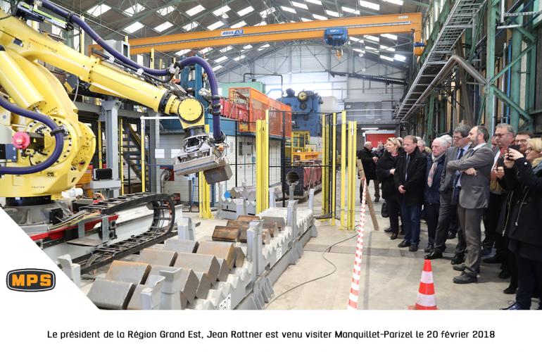 Spécialisée dans les pièces forgées pour le secteur ferroviaire et installée à Hautes-Rivières dans la Vallée de la Meuse, la société ardennaise Manquillet Parizel a su s'adapter aux besoins de ses clients, notamment en intégrant les nouvelles technologies