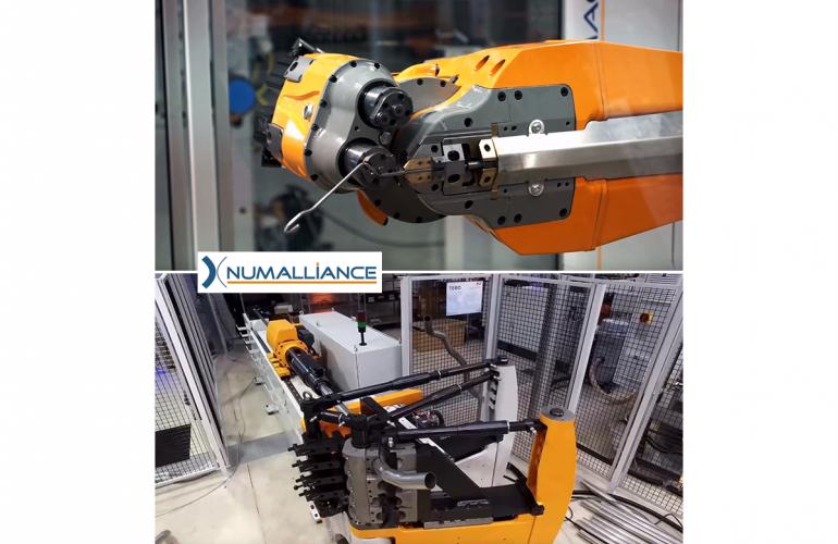 Les Ardennes accueillent NUMALLIANCE, une entreprise aux compétences et à l'ingéniosité connues et reconnues internationalement grâce à la conception et la production de machines de déformation à froid de fils, tubes et méplats métalliques
