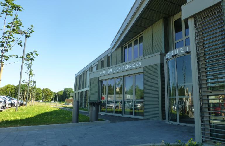 La pépinière d'entreprises d'Ardenne Métropole, dirigée par Céline Geoffroy, a été créée en 2014, et est établie sur 3 sites dans les Ardennes, au Nord-Est de la France