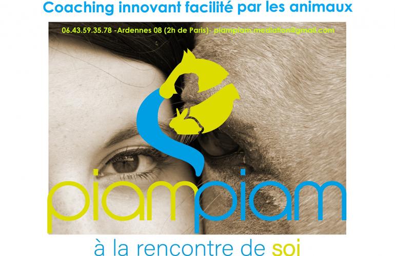 Piam-Piam : les animaux accompagnent le développement personnel