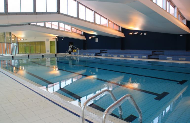 Argona, le nouveau centre aquatique de Vouziers, dans les Ardennes au Nord-Est de la France