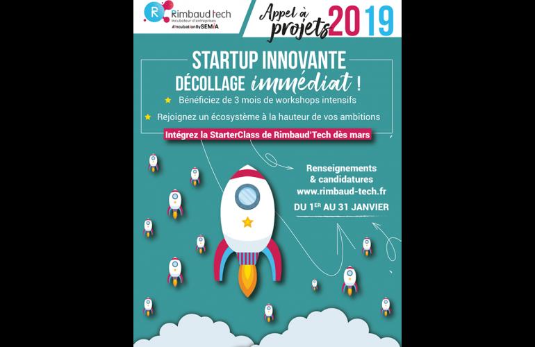 Après le succès de l'édition 2018, l'incubateur d'entreprises Rimbaud'Tech, basé à Charleville-Mézières dans les Ardennes, lance un nouvel appel à projets pour intégrer de nouveaux entrepreneurs