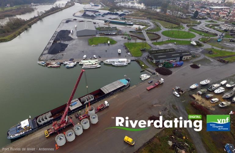 Riverdating : les Ardennes impliquées dans la logistique fluviale