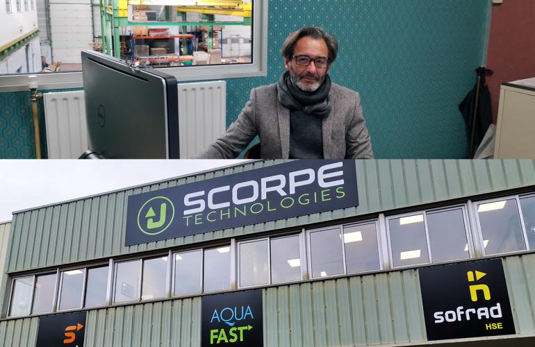 SCORPE Technologies prend pied dans les Ardennes