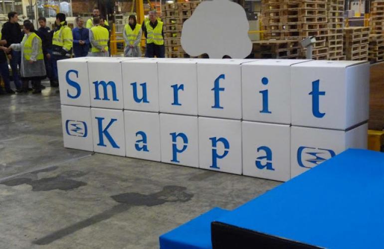 Open the future, nouvelle campagne de promotion par l'entreprise Smurfit Kappa