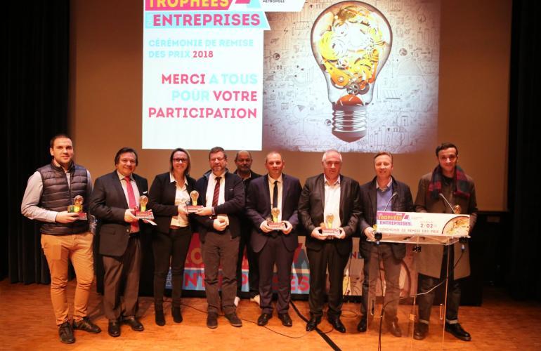 Vendredi 2 février 2018, sept entreprises ardennaises installées sur l'agglomération ont été récompensées pour leur réussite au cours de l'année 2017