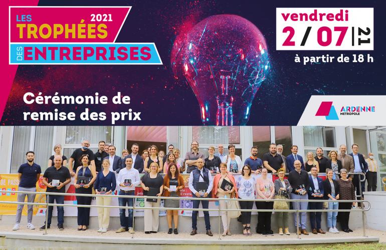 Trophées Ardenne Métropole : des entrepreneurs toujours dynamiques !