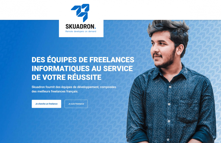 SKUADRON: an army of IT developers just a click away